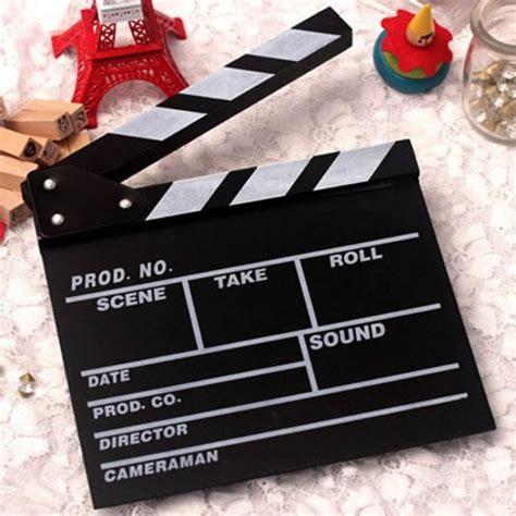 How To Make A Paper Clapper - director clapboard slate cut