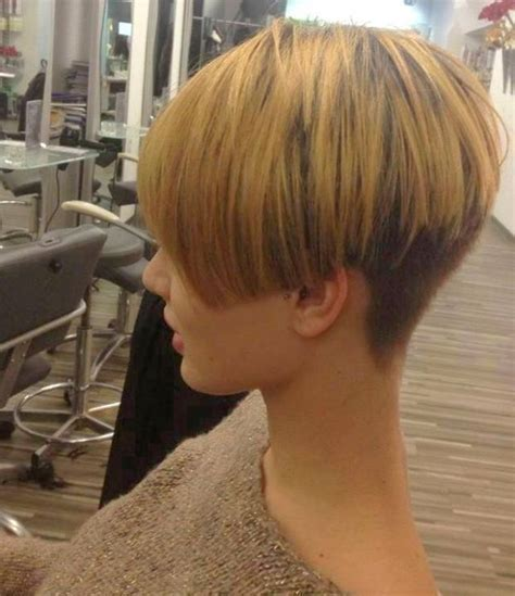 www ponytail with high nape shave haircut com 1000 images about buzzed bobs on pinterest shaved nape
