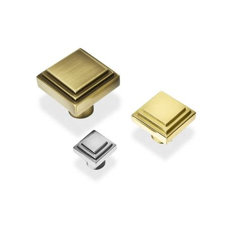 Deco Knobs by Sk3020 Square Deco Cabinet Handle Bronze Chrome Nickel