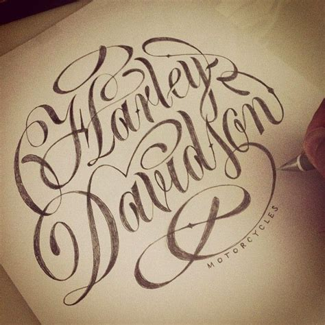 tattoo lettering harley 153 best images about harley davidson tattoos on pinterest
