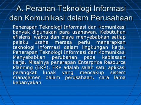 Peranan Teknologi Informasi Dan Komunikasi Di Bidang Obat Dan Pengoba peranan pengaruh teknologi komunikasi informasi pada