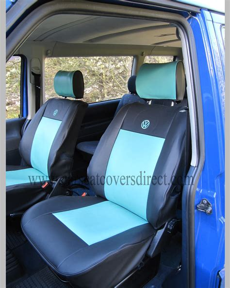 vw t4 seat upholstery vw t4 seat covers blue black car seat covers direct