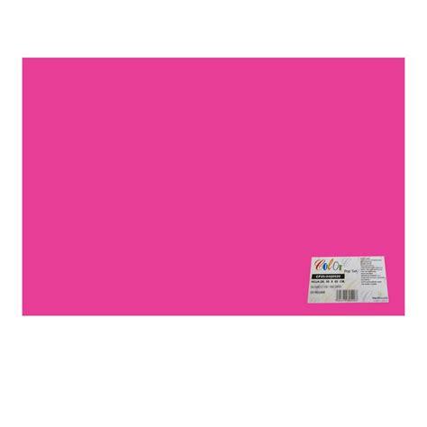 color fiusha cartulina iris 50x60cm 185 g m2 pieza fiusha officemax