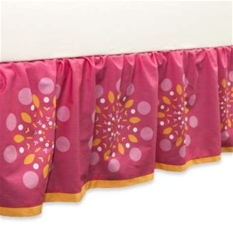 Orange Crib Bed Skirt Buy Orange Bed Skirts From Bed Bath Beyond