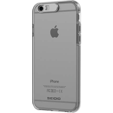 seidio luma for iphone 6 6s clear csliph6 b h photo