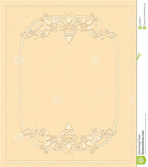 paper invitation templates vintage background embossed paper antique greeting card