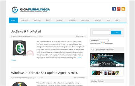 blogger download free download fast blogger template gigapurbalingga