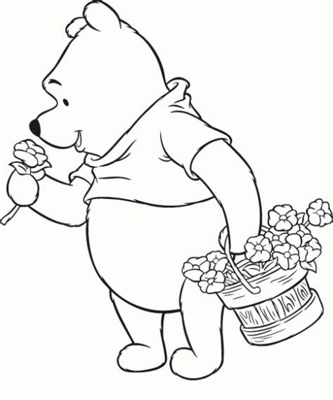 imagenes de winnie pooh con flores winnie pooh recogiendo flores
