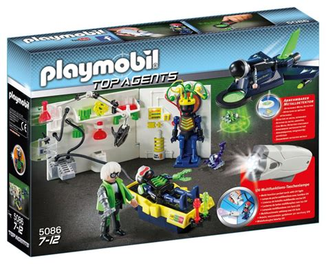 Playmobil Agenten Auto by Playmobil Set 5086 Top Agents Robo Lab Klickypedia