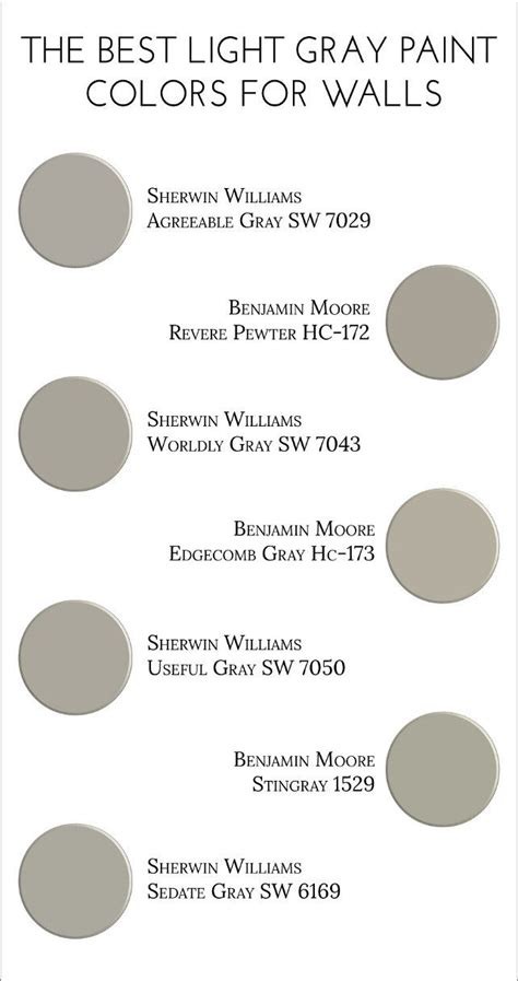 light gray color names myideasbedroom com light gray paint colors for walls agreeable gray sw 7029
