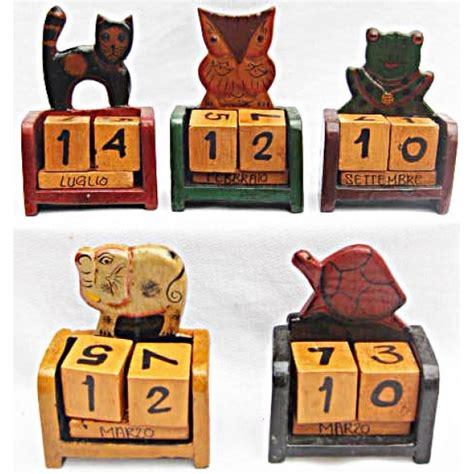 Calendario Perpetuo Shop Calendario Perpetuo Mini In Legno Vari Modelli Orologi