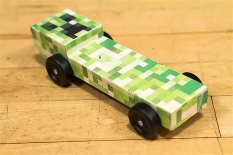 minecraft car design minecraft pinewood derby car pinewood derby cars