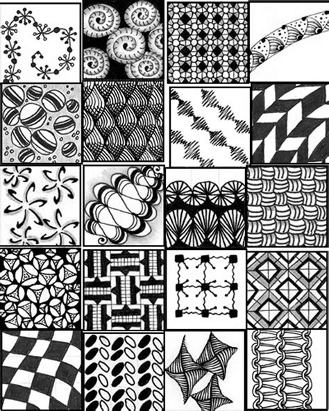 pattern of zentangle simple zentangle patterns step by step quotes
