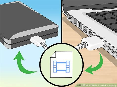 how to reset a toshiba laptop with pictures wikihow