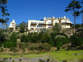 Adobe Style House Castle On A Hill 17 Mile Drive Monterey Peninsula