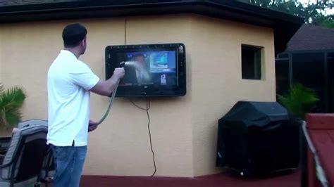 The TV Shield   Outdoor TV Cabinet Enclosure Case