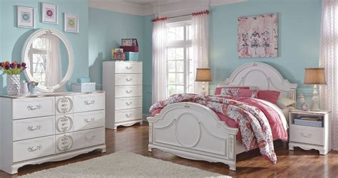 white youth bedroom furniture sets korabella white youth panel bedroom set from ashley b355