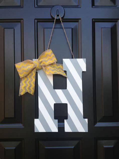 Front Door Hanger 17 Best Ideas About Initial Door Hanger On Letter Door Wreaths Monogram Wreath And