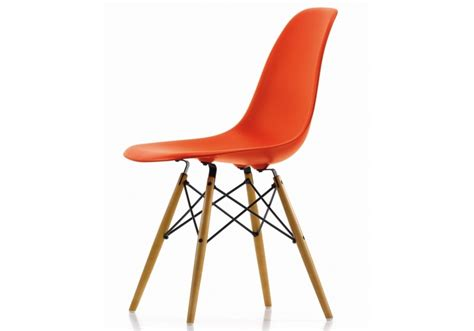 Eames Style Plastic Chair by Eames Plastic Side Chair Dsw Sedia Milia Shop