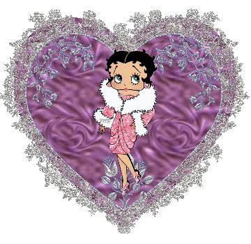 imagenes de love con movimiento y brillo betty boop glitters facebookers