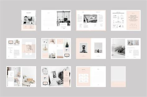 web design layout in indesign graphic design proposal template indesign google search