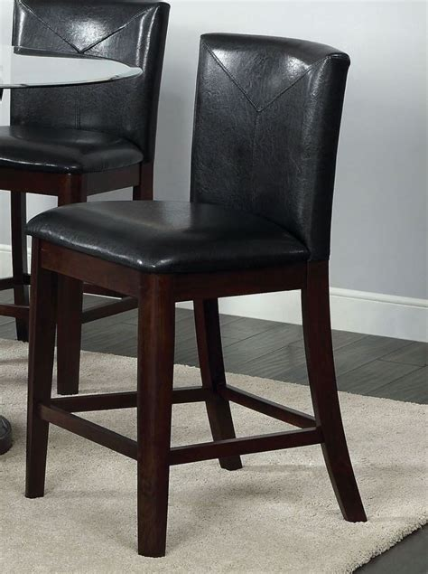Counter Height Parsons Chair by Atenna Ii Leatherette Parson Counter Height Chair Set Of 2