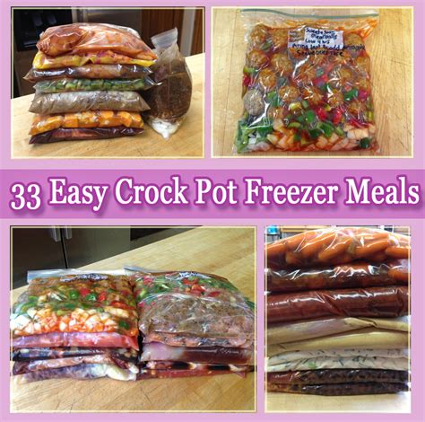 33 easy crock pot freezer meals mommy s fabulous finds