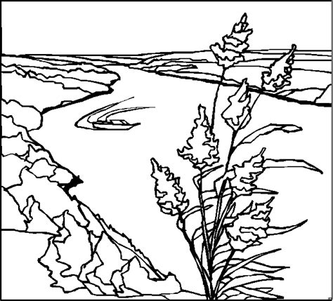 printable coloring pages landscapes free coloring pages of landscape