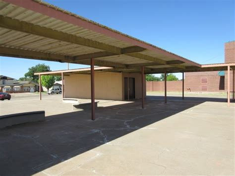 Abo Elementary School in Artesia, New Mexico, was built to double as a Cold War bomb shelter.