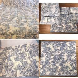 Toile Bedding Sets Blue Waverly Garden Room Blue Toile Gingham Comforter