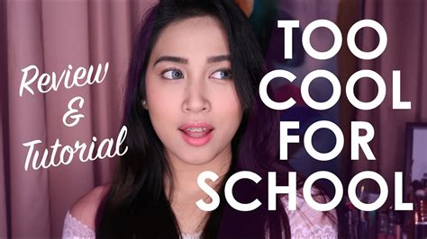 Make Up Cool For School one brand make up tutorial cool for school