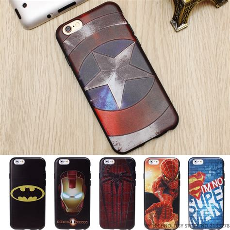 For Iphone 5 5s Se Soft Superman Captain America Casing 5 5s Se 2 marvel 3d emboss soft tpu luxury silicone phone cases for iphone 5 5s se 6 6s 7 plus
