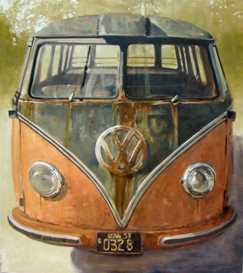 volkswagen bus painting 1000 images about my paintings volkswagen on pinterest