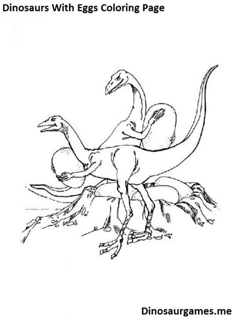dinosaurs coloring pages games dinosaurs with eggs coloring page dinosaur coloring pages