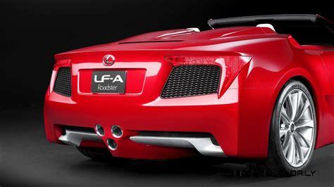 lexus car 2007 concept to reality part two 2007 lexus lf a roadster