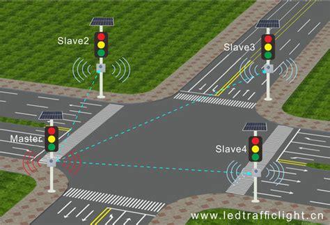 intelligent traffic lights system solar powered road traffic light controller system