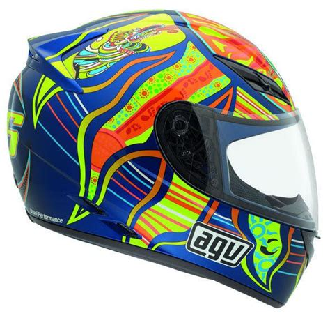Agv K3sv 5 Continents Mulus Sold Authentic Italian Motorcycle Helmet Racing Helmet Run