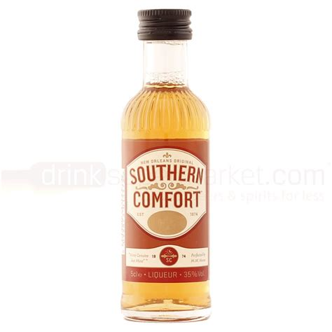 southern comfort whiskey southern comfort whiskey liqueur 5cl miniature buy cheap