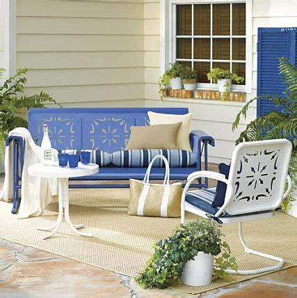 vintage style patio furniture 1000 ideas about vintage patio furniture on