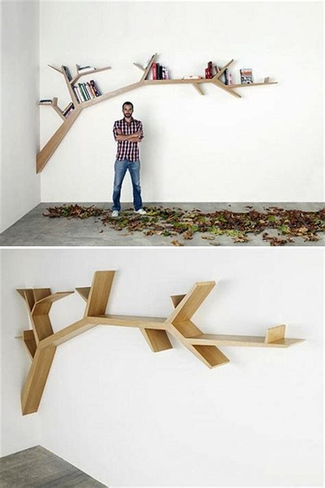 Tree Shelf Diy by 30 Great Floating Shelves Ideas
