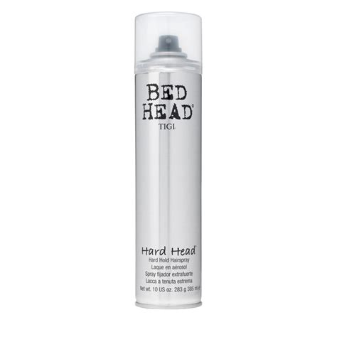 tigi bed head hard head hairspray 385ml free shipping