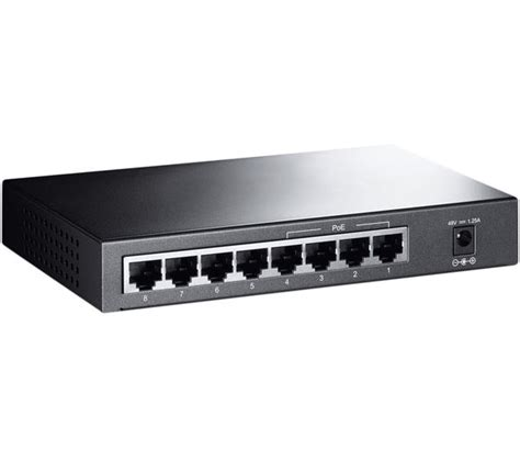 Switch Network buy tp link tl sf1008p network switch 8 port free delivery currys