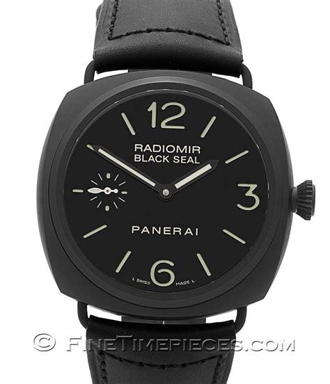 black seal series officine panerai radiomir black seal ceramic p series