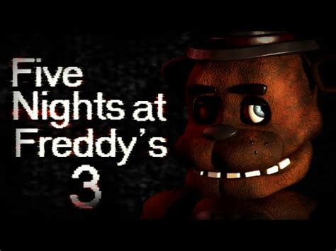 five nights at freddy s fan made games full download download fnaf 3 fan made game