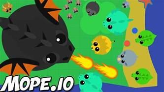 mope io huge black dragon mope io gameplay new animals mope