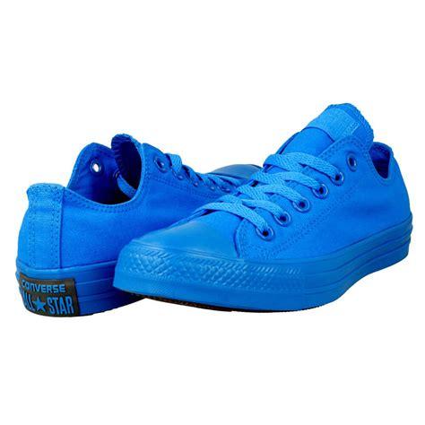 Converse Mono Ox Blue converse chuck all specialty mono ox 152783c