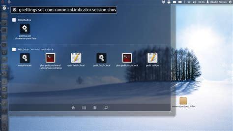 remover barra superior como remover o seu nome da barra superior do ubuntu ubuntued