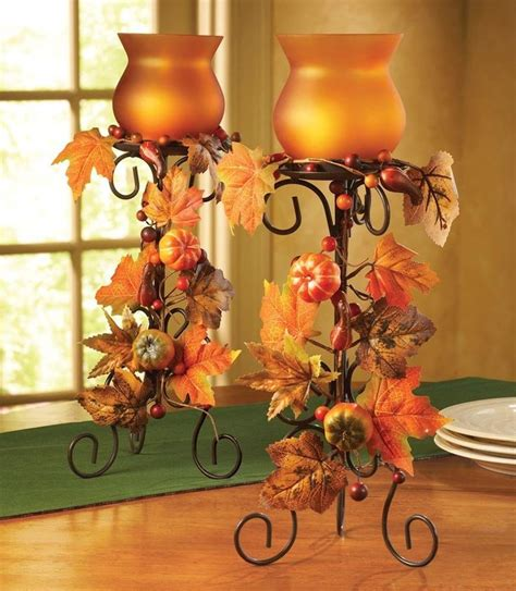 Glass Dining Room Table Bases fall center piece fall wedding flower centerpieces fall