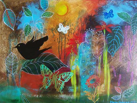 acrylic painting beginner easy acrylics painting for beginner nature for beginners