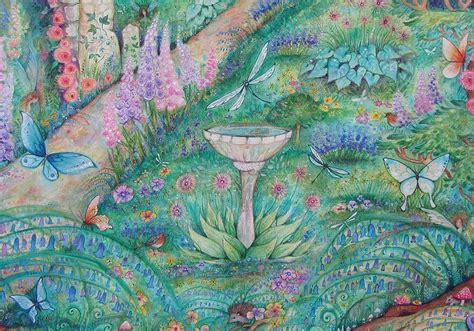 nature names the secret garden baby name blog nameberry the secret garden original watercolor fantasy painting